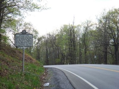 Keyes Gap Marker image. Click for full size.