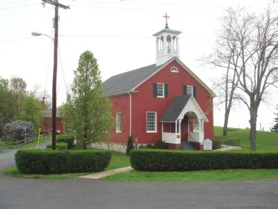 Mt. Zion Episcopal Church, Built 1818 image. Click for full size.