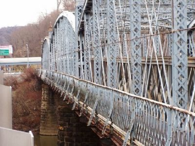 Iron Truss Bridge image. Click for full size.