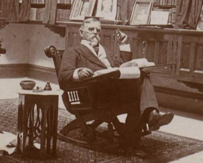 General Lew Wallace In His Study image. Click for full size.