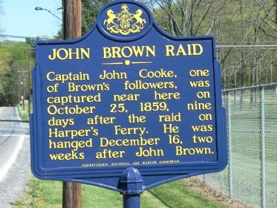 John Brown Raid Marker image. Click for full size.