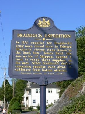 Braddock Expedition Marker image. Click for full size.