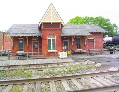 Former B&O Railroad Station image. Click for full size.