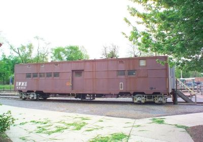 Western Maryland Railway Office Car K-3008 image. Click for full size.