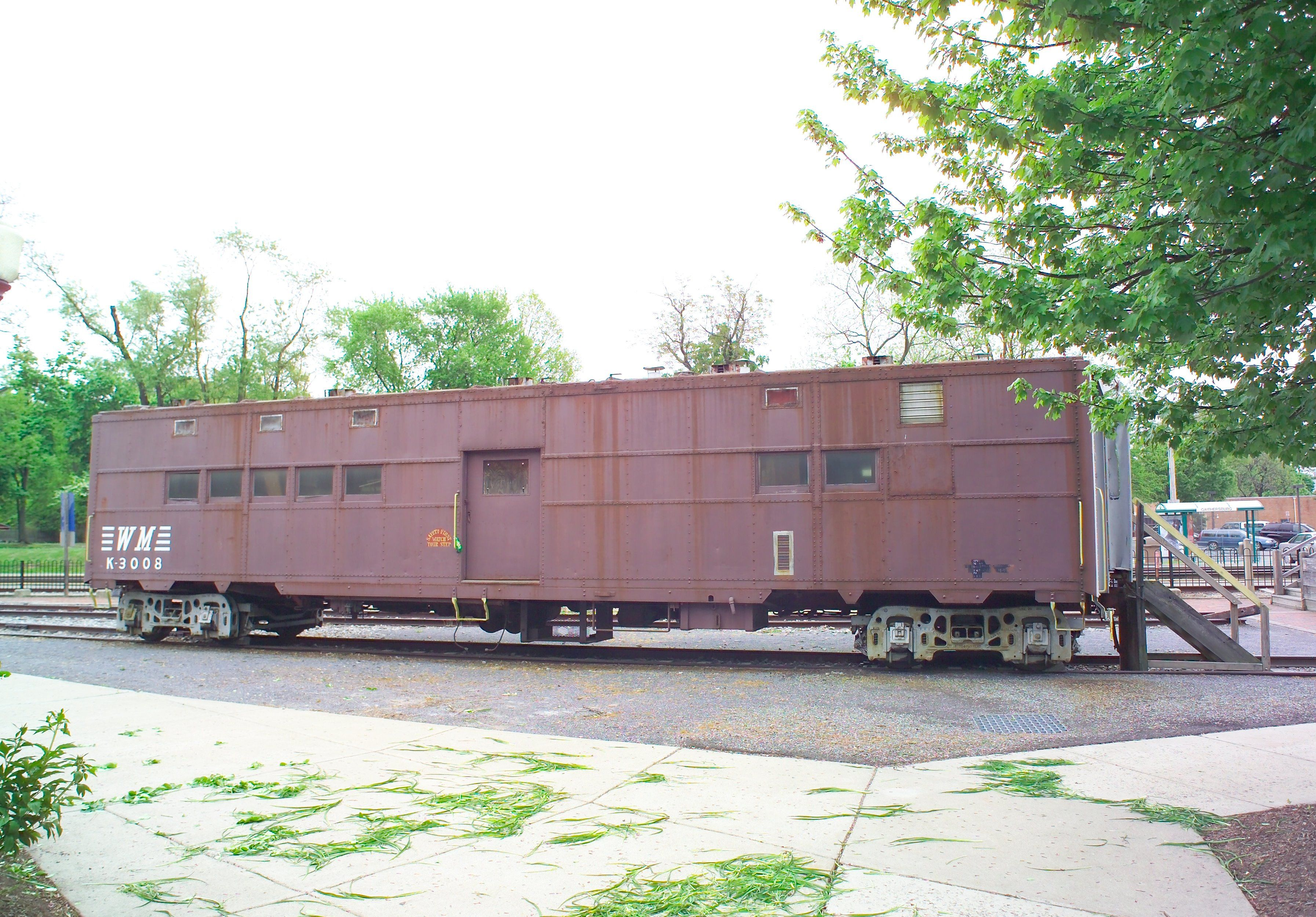 Western Maryland Railway Office Car K-3008