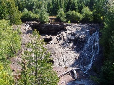 Eagle River Falls image. Click for full size.