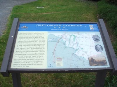 Gettysburg Campaign - Invasion and Retreat Marker image. Click for full size.