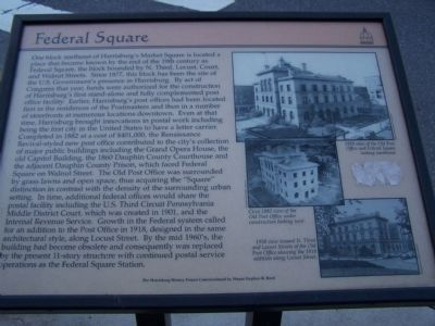 Federal Square Marker image. Click for full size.