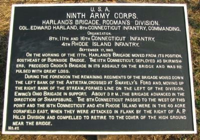 Harland's Brigade Tablet image. Click for full size.