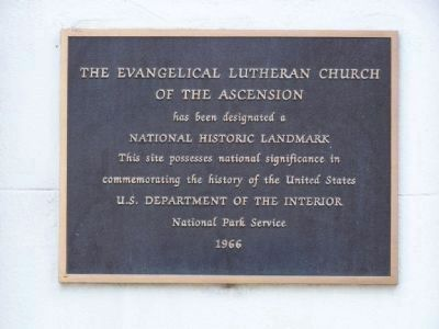 The Evangelical Lutheran Church<br>Of The Ascension image. Click for full size.