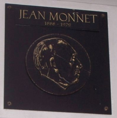 Jean Monnet [panel No. 1] image. Click for full size.