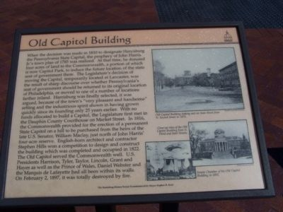 Old Capitol Building Marker image. Click for full size.