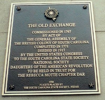 The Old Exchange Marker image. Click for full size.
