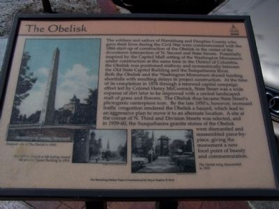 The Obelisk Marker image. Click for full size.