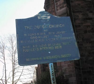 The Dutch Church Marker image. Click for full size.