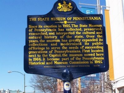 The State Museum of Pennsylvania Marker image. Click for full size.