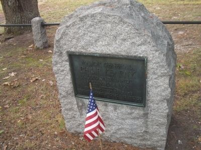 Kearny's Death Site on Chantilly Battlefield image. Click for full size.