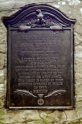Memorial Tablet Marker image. Click for full size.