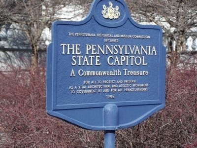 The Pennsylvania Historical and Museum Commission Declares Marker image. Click for full size.