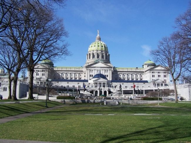 Pennsylvania State Capitol Building. image. Click for full size.