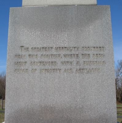 East Face of Monument image. Click for full size.