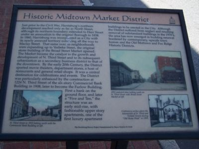 Historic Midtown Market District Marker image. Click for full size.