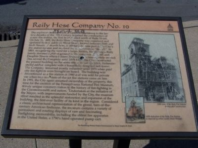 Reily Hose Company No. 10 Marker image. Click for full size.