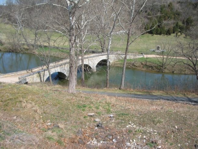 The Bridge from the Confederate Defender's Point of View image. Click for full size.