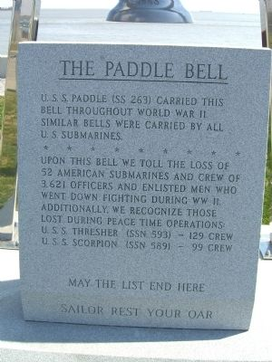 The Paddle Bell Marker image. Click for full size.