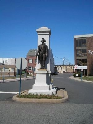 Brigadier General Enoch Poor Monument image. Click for full size.