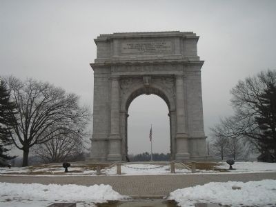 The National Memorial Arch at Valley Forge image. Click for full size.