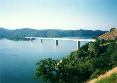 New Melones Reservoir image. Click for full size.