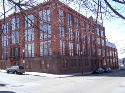 Mount Pleasant Press Building image. Click for full size.
