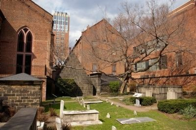 The church yard near the Poe family plot image. Click for full size.