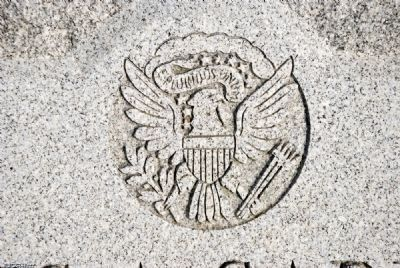 Federal Crest at top of marker image. Click for full size.