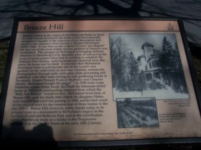 Breeze Hill Marker image. Click for full size.