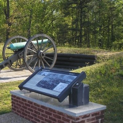 Marker and a cannon image. Click for full size.
