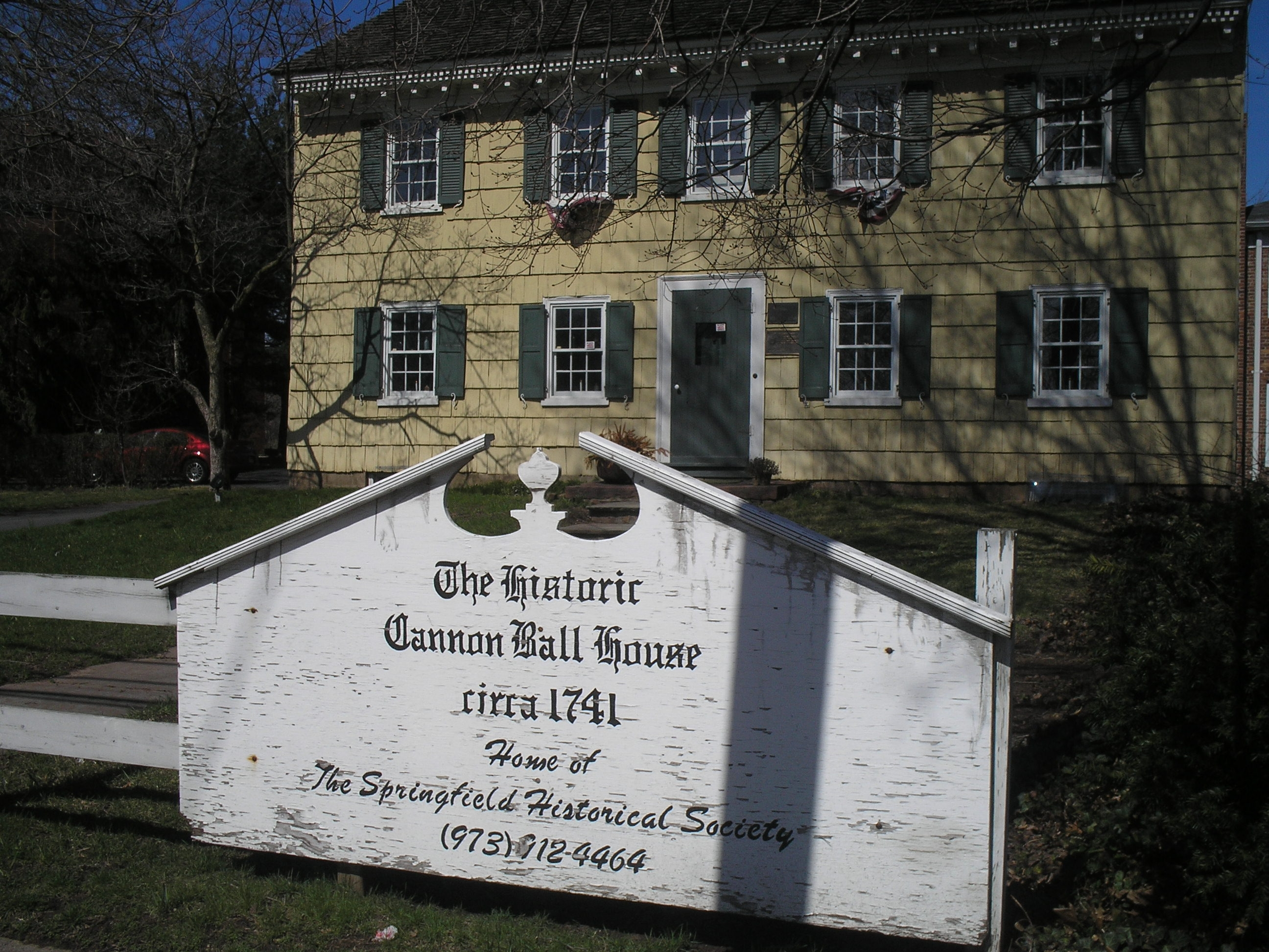 The Historic Cannon Ball House