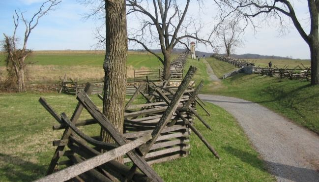 Kimball's Brigade Breaks through the Sunken Road image. Click for full size.