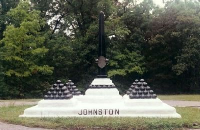 Johnston Marker ( Killed here ) image. Click for full size.