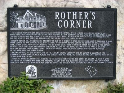 Rother's Corner Marker image. Click for full size.