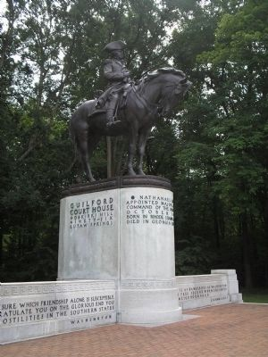 Major General Nathanael Greene image. Click for full size.