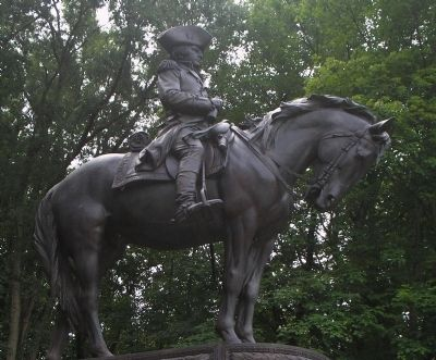 Closeup of Greene Statue image. Click for full size.