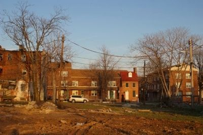 View of the Poe House, as seen from across the street image. Click for full size.
