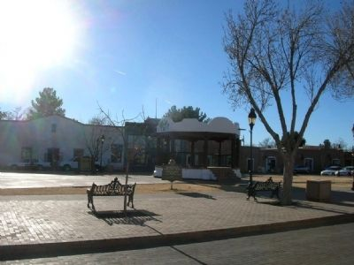 Mesilla Town Square image. Click for full size.