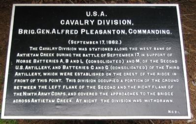 Cavalry Division Tablet image. Click for full size.