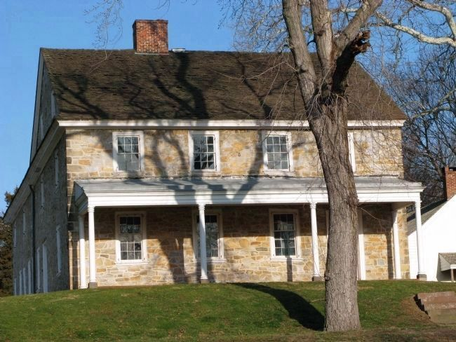 Haldeman Mansion, birthplace of Professor Samuel Stehman Haldeman image. Click for full size.