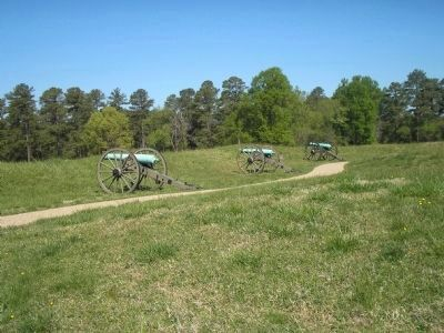 Cannons at Fort Stedman image. Click for full size.