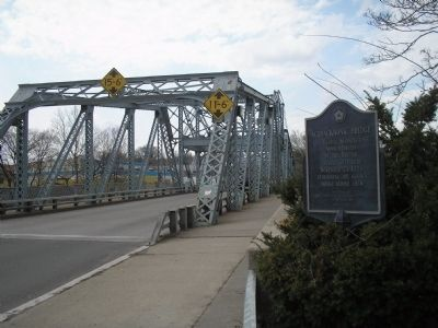Marker at Passaic River Bridge image. Click for full size.