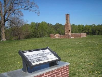 Marker and Remains of the Taylor Kitchen image. Click for full size.
